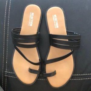 Kenneth Cole Reaction 8 Black Sandals worn Once